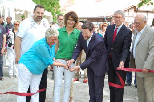 Eröffnung der Swingolf Anlage Schloss Möhler